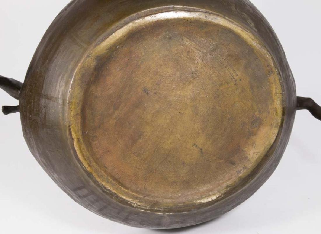Clio Bracken Bronze Figural Center Bowl - 7