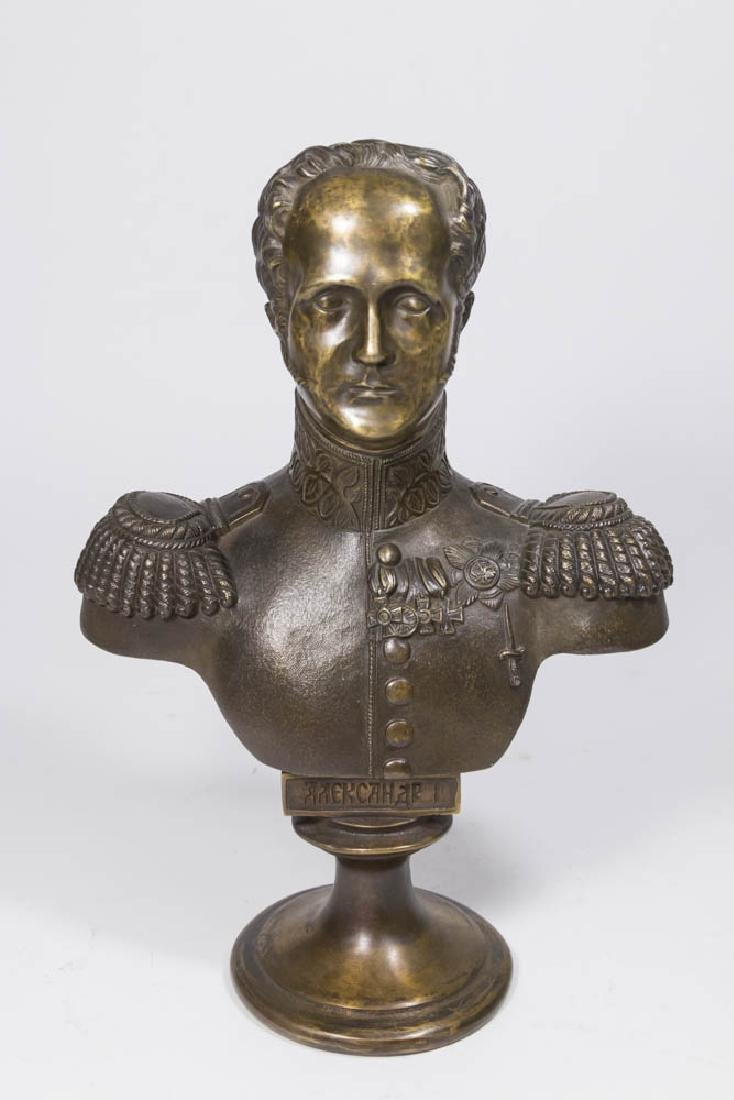 Bronze Bust of Alexander I