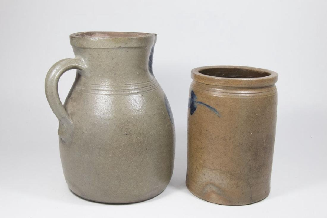 Salt Glaze Vase & Pitcher - 3