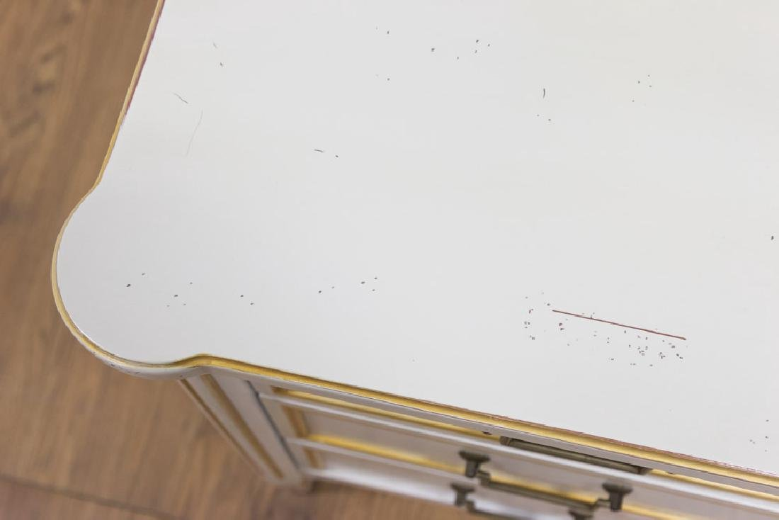 Louis XVI Style White Painted Commode - 3