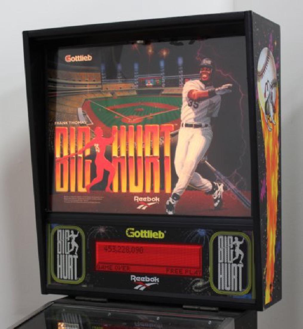 """Gottlieb Pinball Machine """"Big Hurt"""" - 3"""