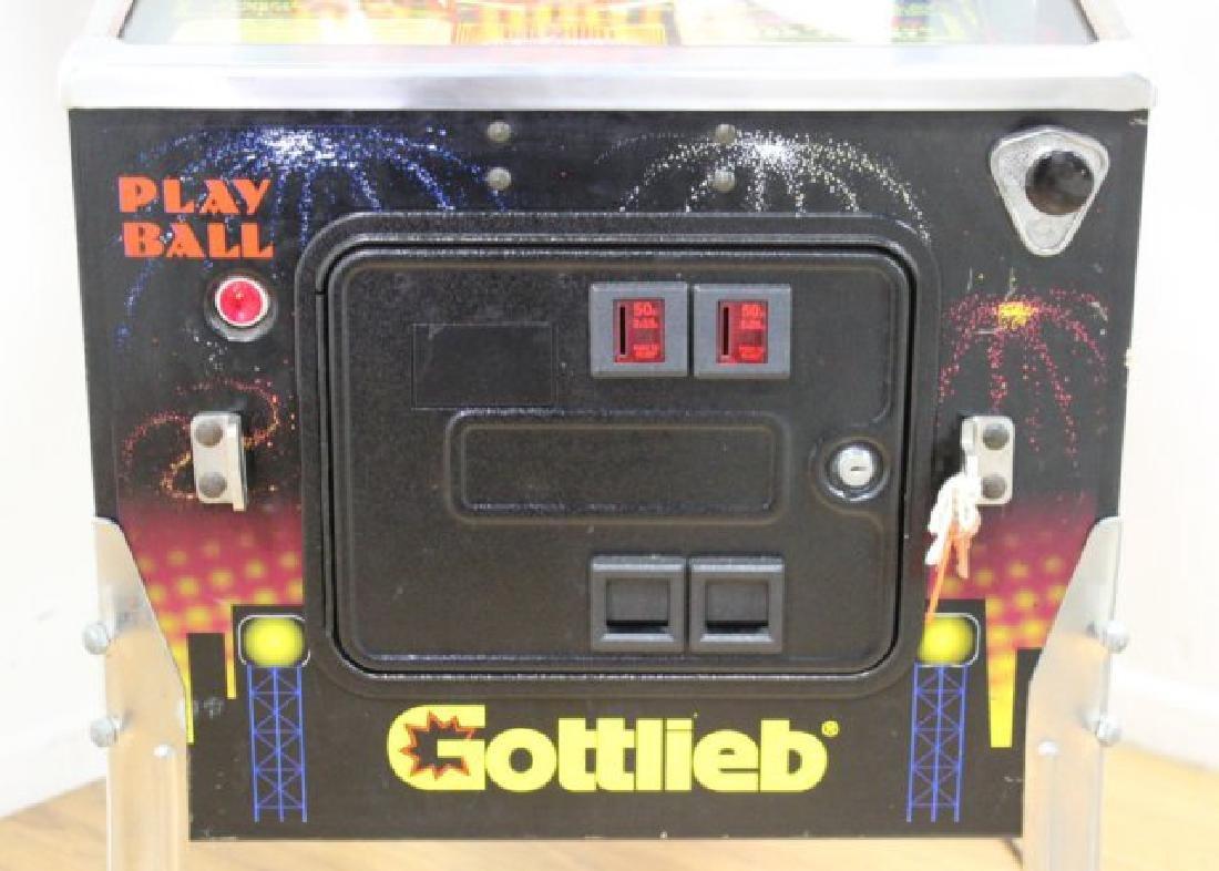 """Gottlieb Pinball Machine """"Big Hurt"""" - 5"""