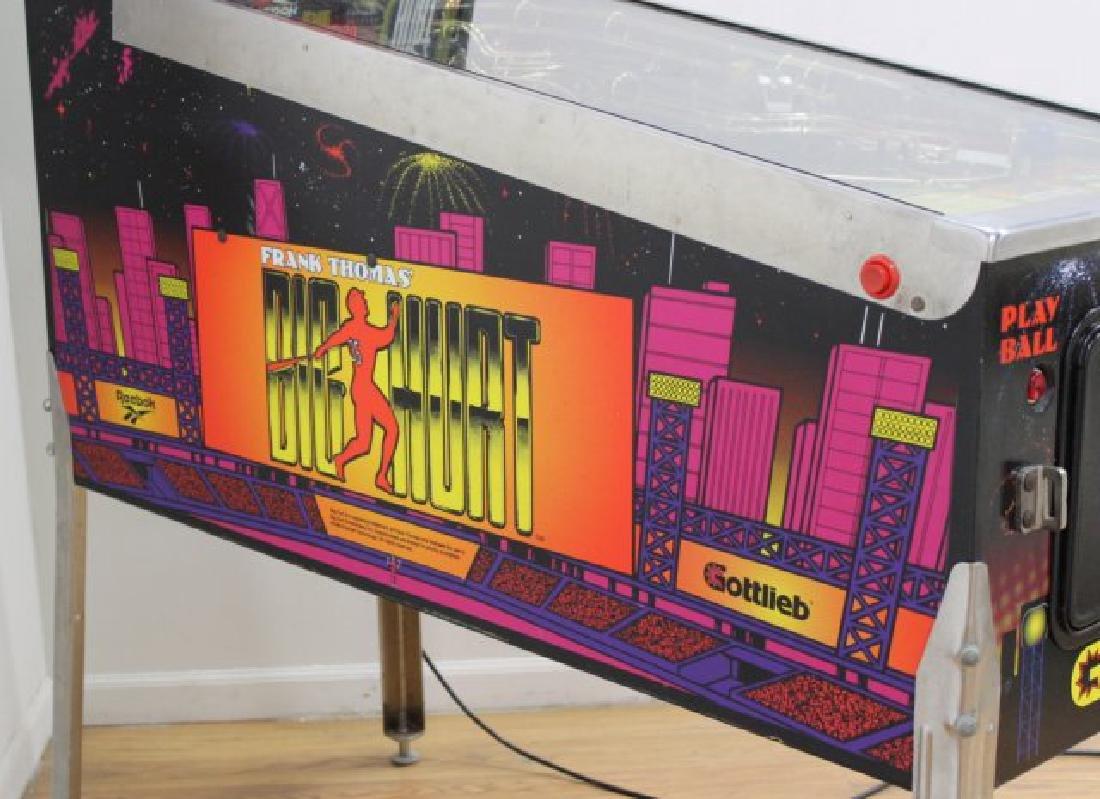 """Gottlieb Pinball Machine """"Big Hurt"""" - 7"""
