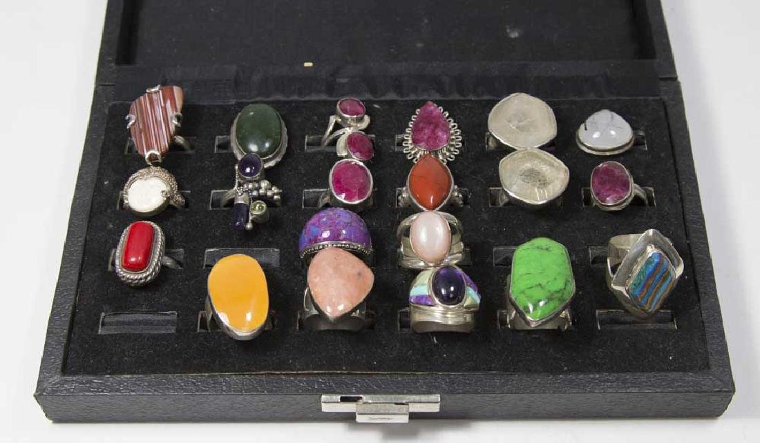 Lot 20 Sterling Silver Rings