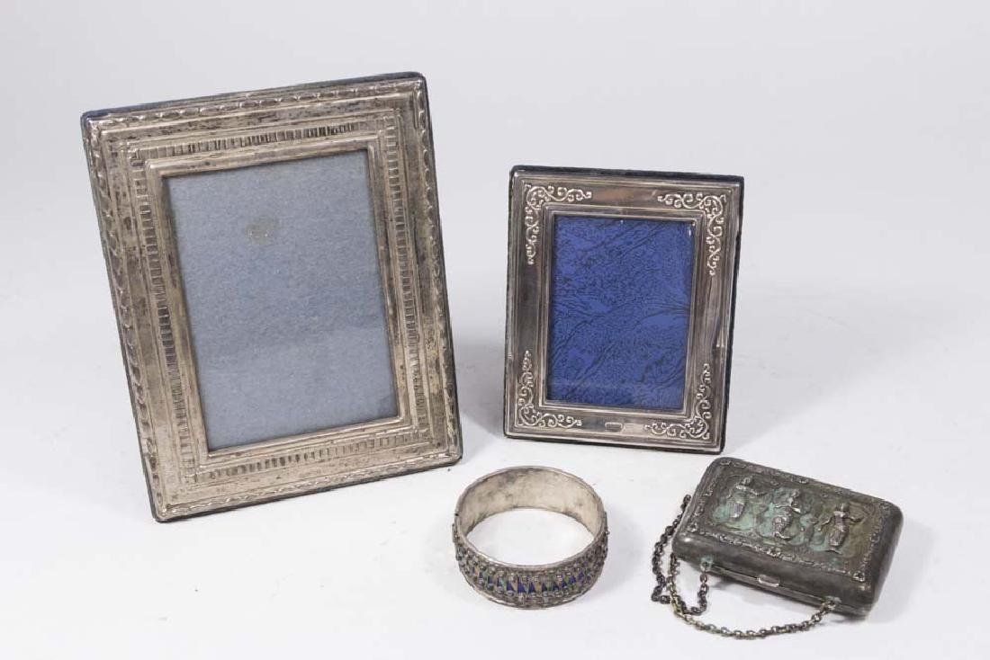 Lot of 4 Silver Items