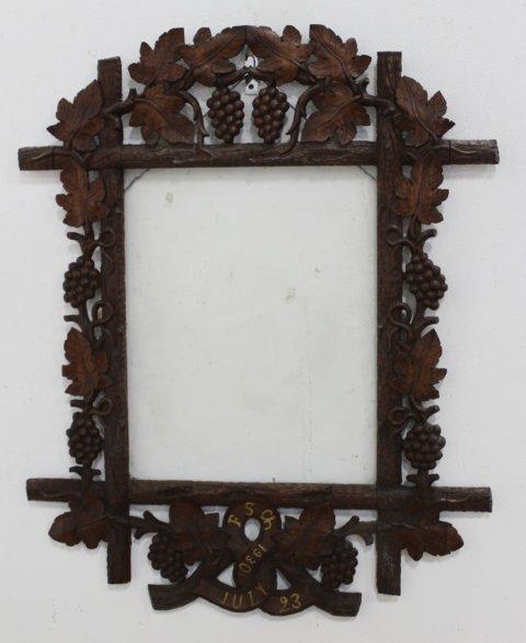 Black Forest Carved Beechwood Frame