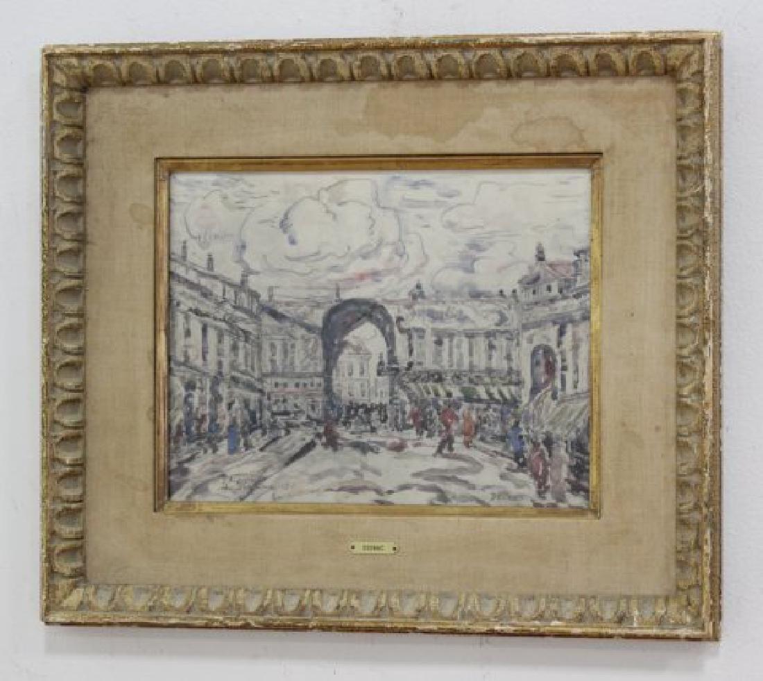 Paul Signac, Nice Market Scene