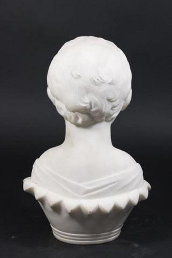 :Marble Sculpture of Young Boy - 3