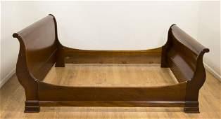 Empire Style Mahogany Bed