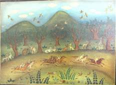 Vicente Martinez, Cats on Horseback