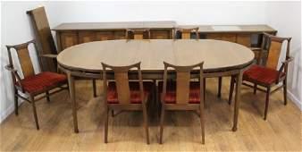 Mid-Century Modern Walnut Dining Room Set