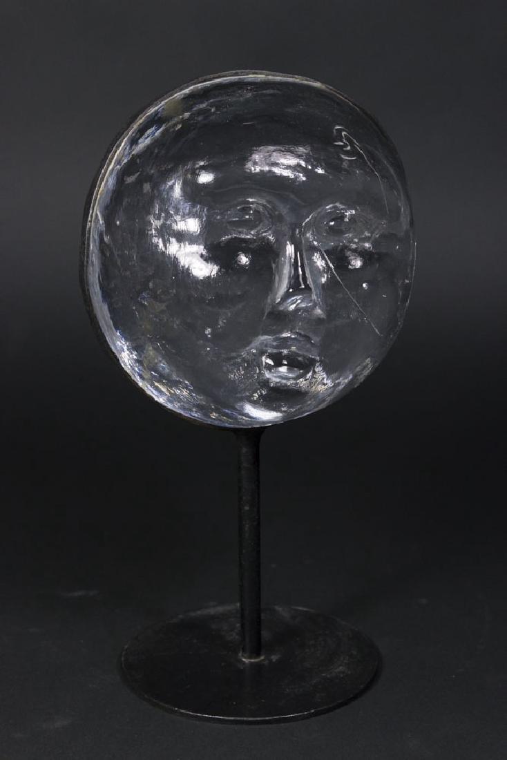 Boda Glass Moon Face