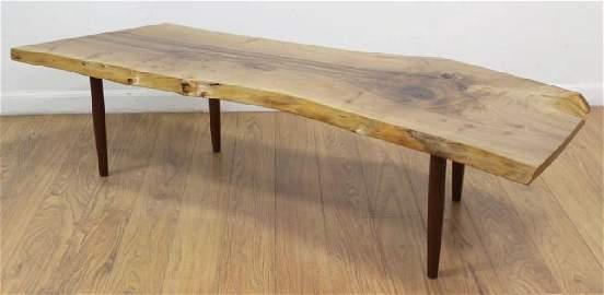 George Nakashima Turned Leg Coffee Table