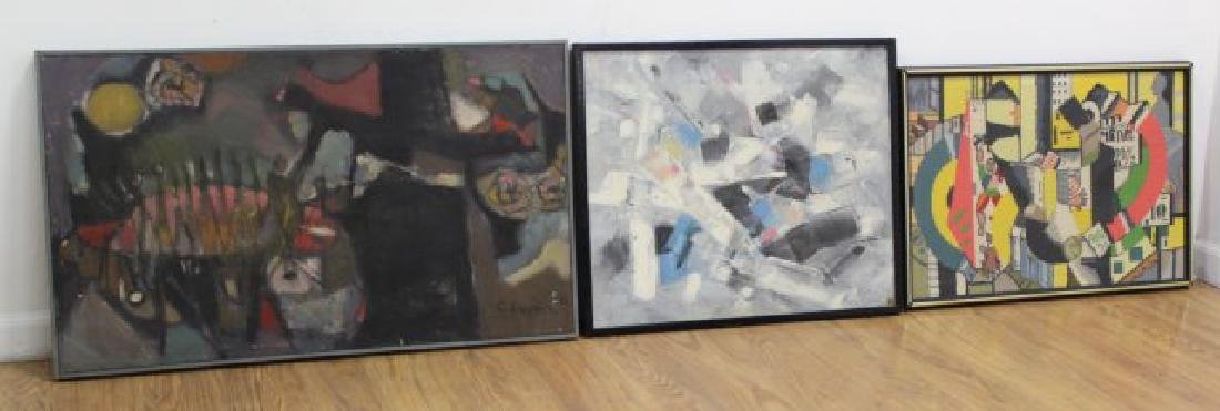 Lot of Abstract Artwork