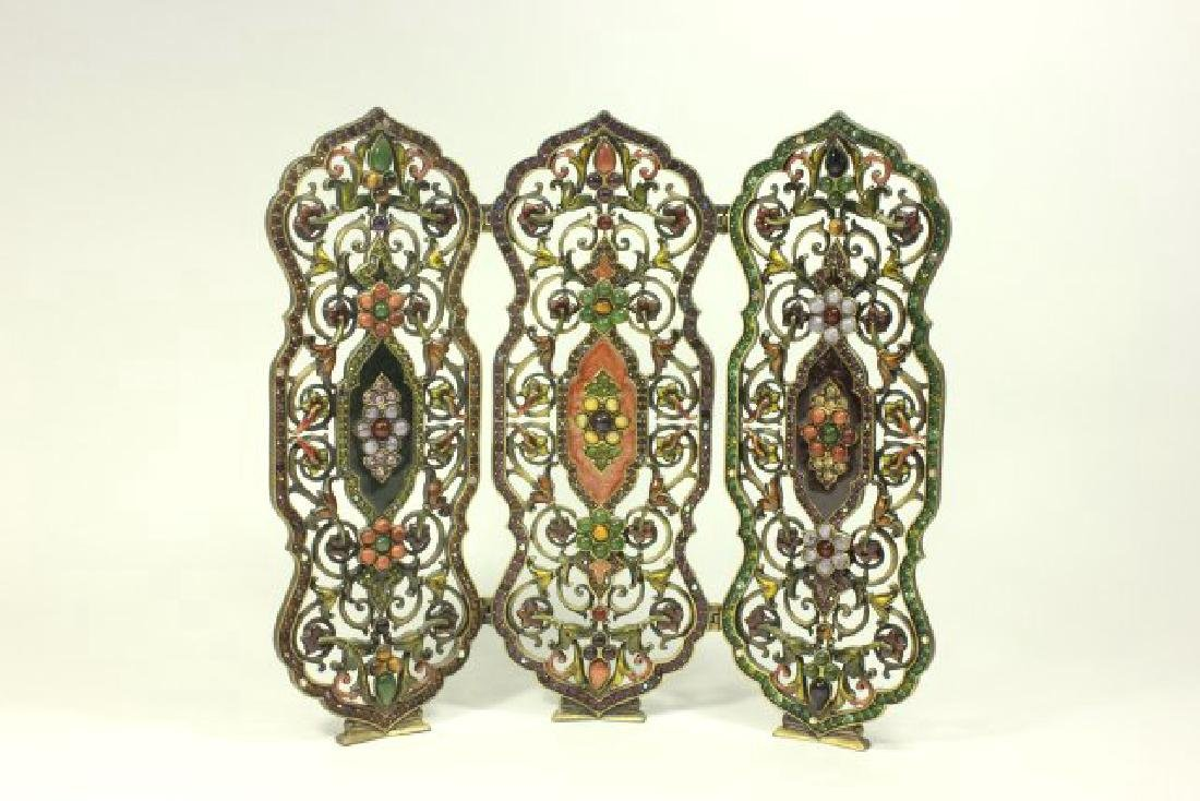 Jay Strongwater 3-Part Table Screen