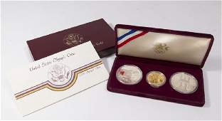 1984 Olympic Proof Coin Set