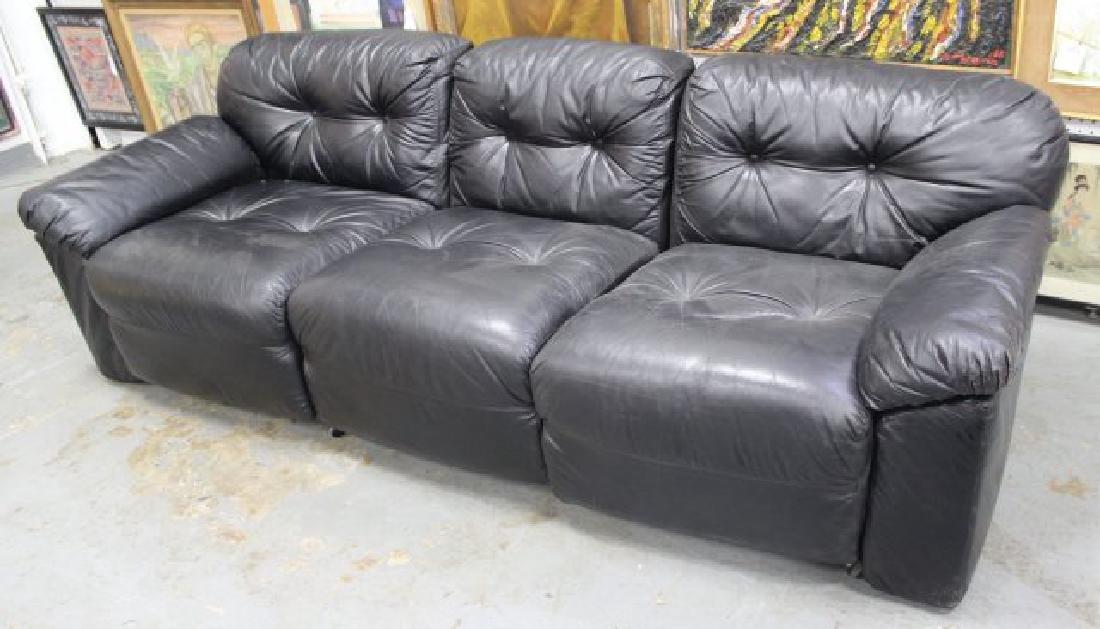 Sormani Leather Sofa