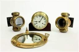 4 Brass Items