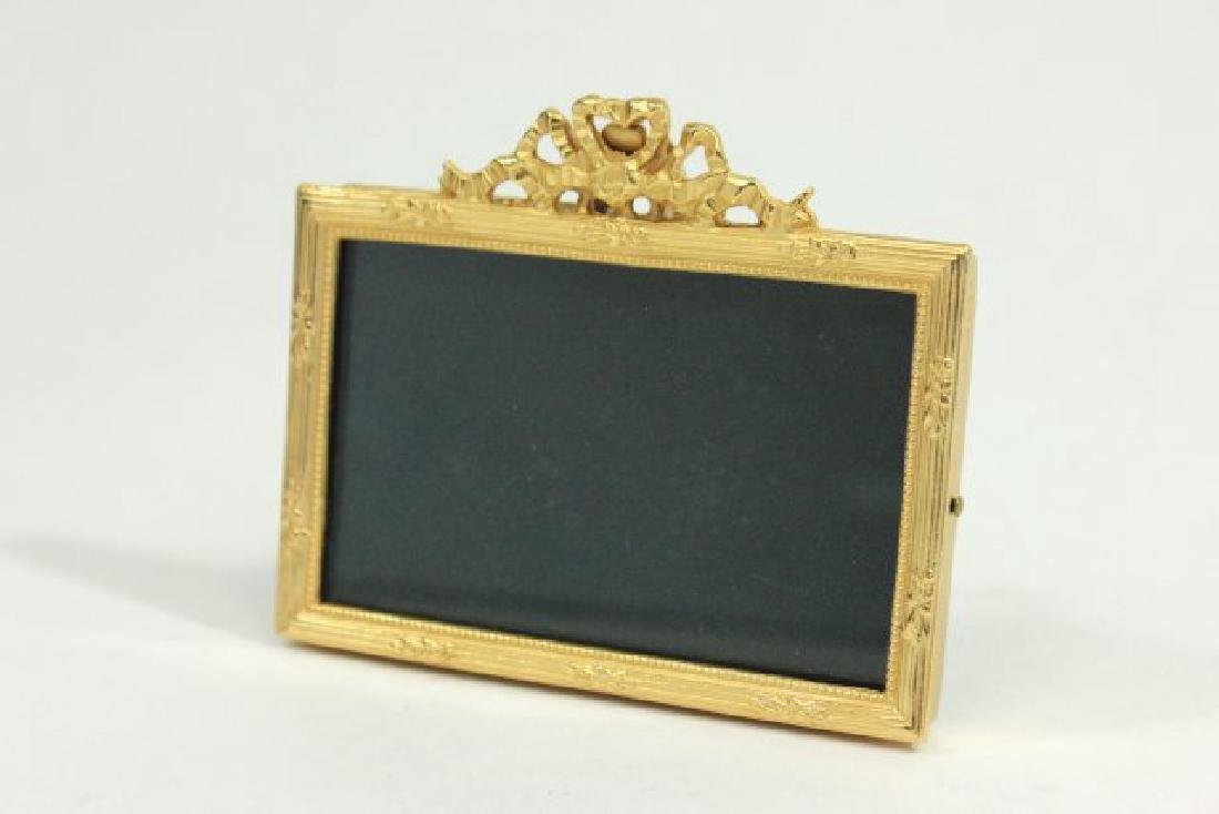 13 Elias Fine Pewter Gold Plated Frames - 8