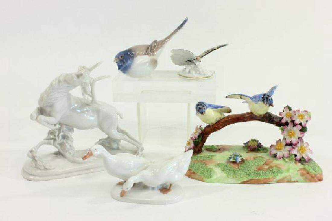 5 Porcelain Figurines