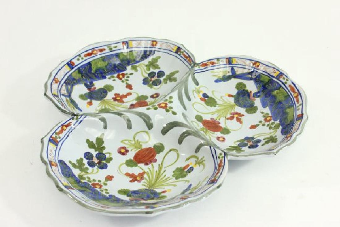 5 Pieces French & Italian Pottery - 3