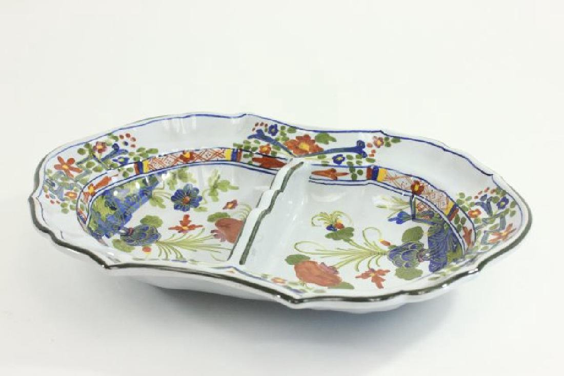 5 Pieces French & Italian Pottery - 4