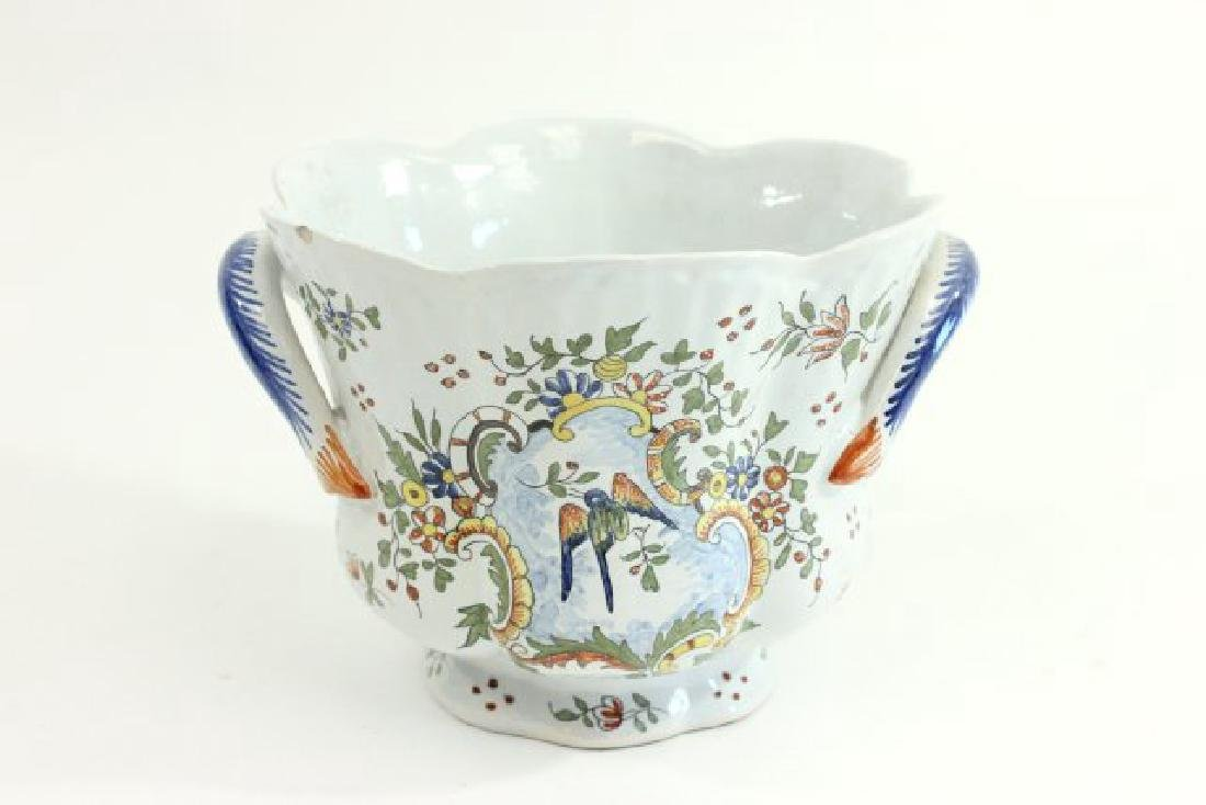 5 Pieces French & Italian Pottery - 5