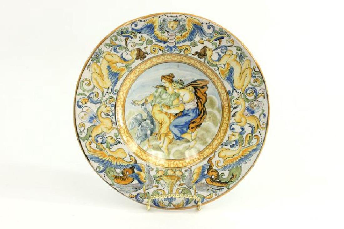 5 Pieces French & Italian Pottery - 6