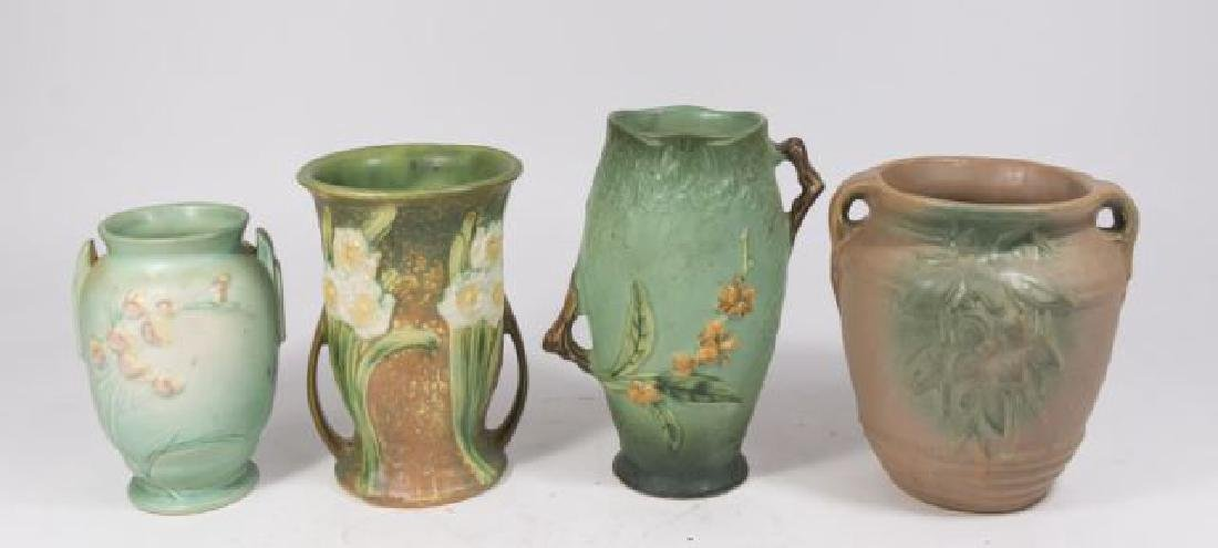 :Lot 5 Roseville Pottery Pieces - 2
