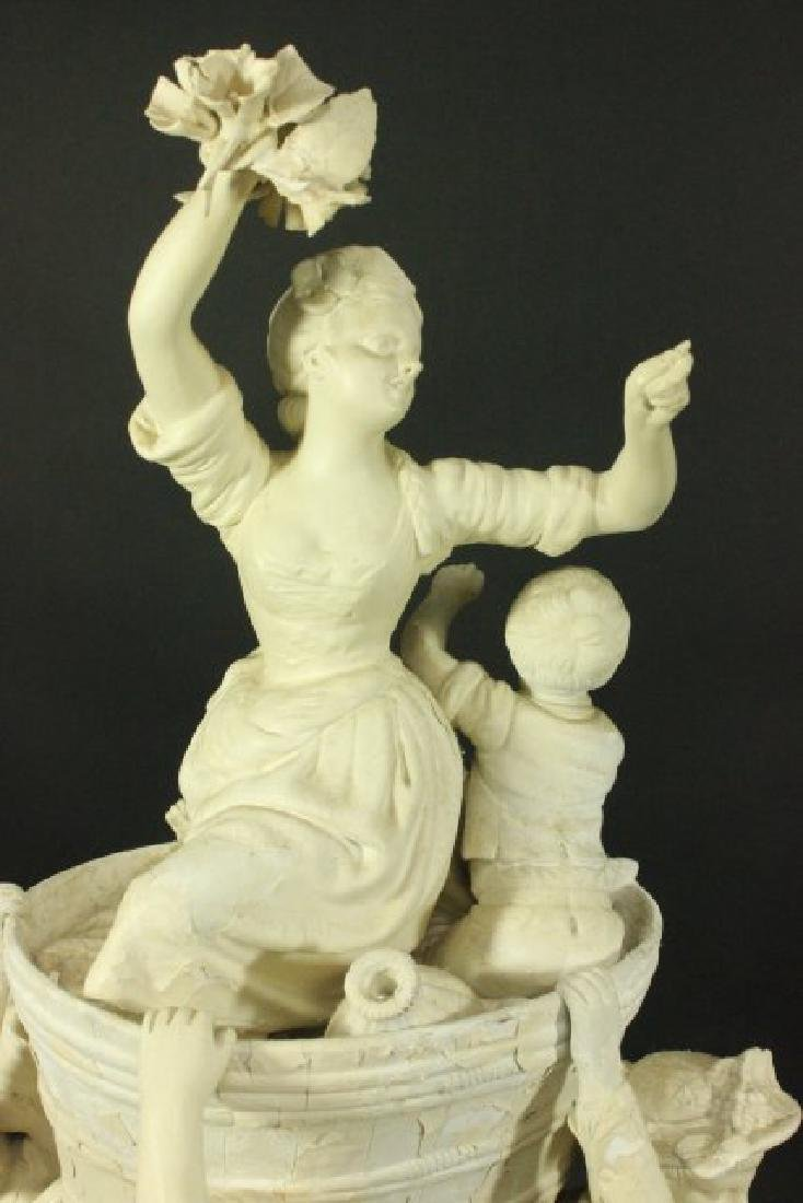 Bisque Parian Figural Centerpiece - 3
