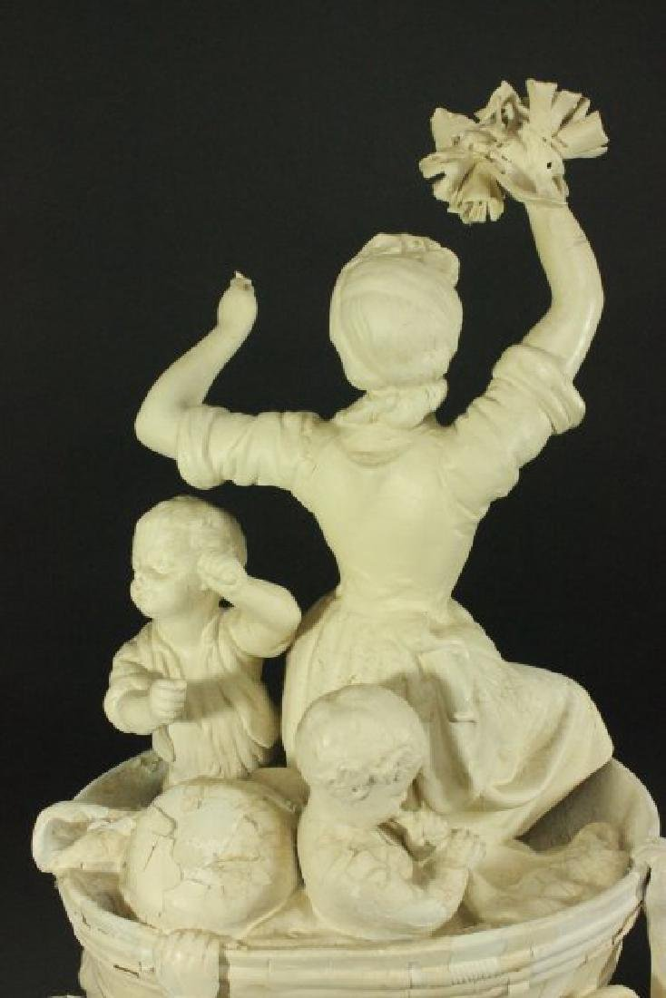 Bisque Parian Figural Centerpiece - 6
