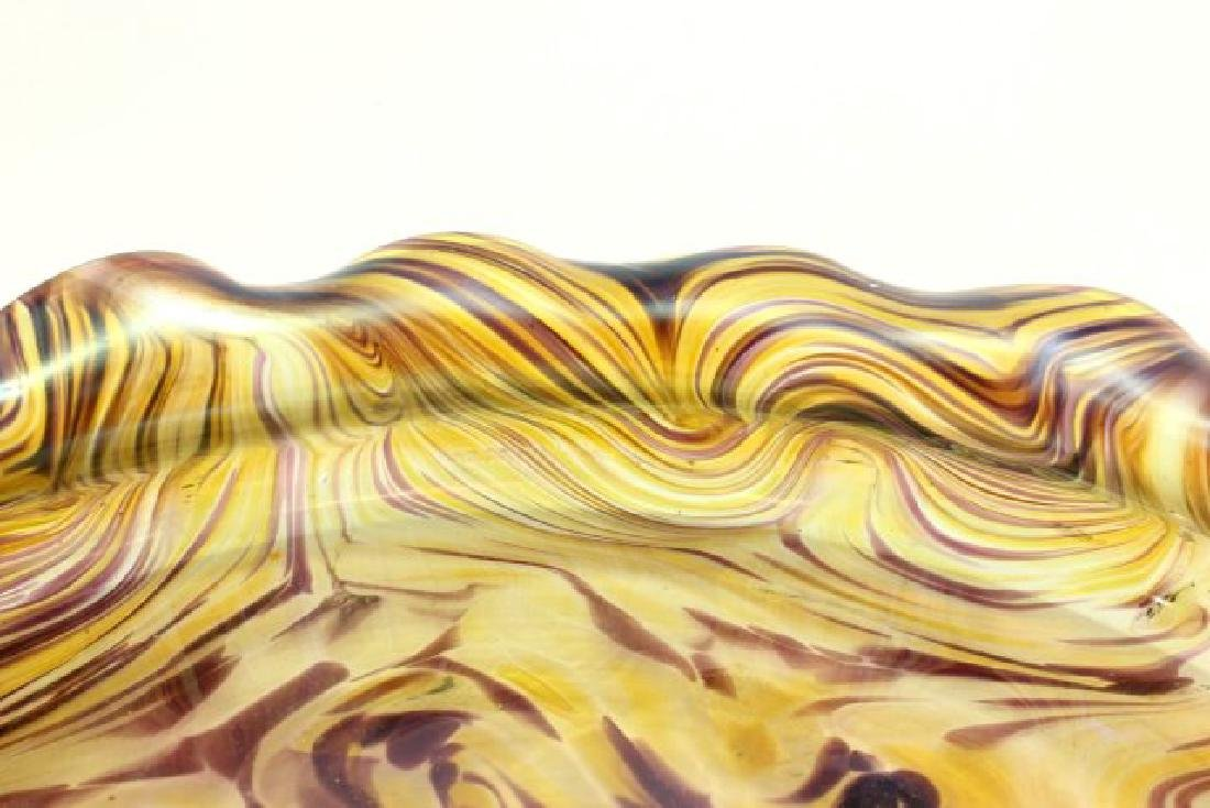 Loetz Unsigned Art Glass Bowl - 4