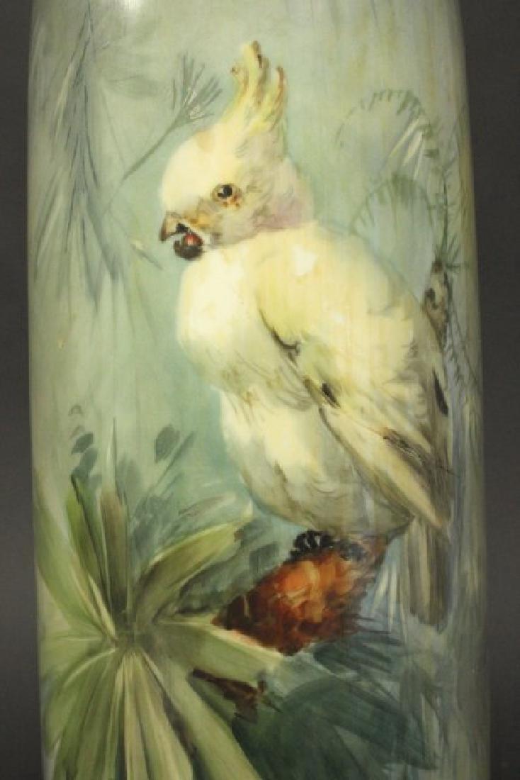 Belleek Porcelain Hand Painted Vase - 2