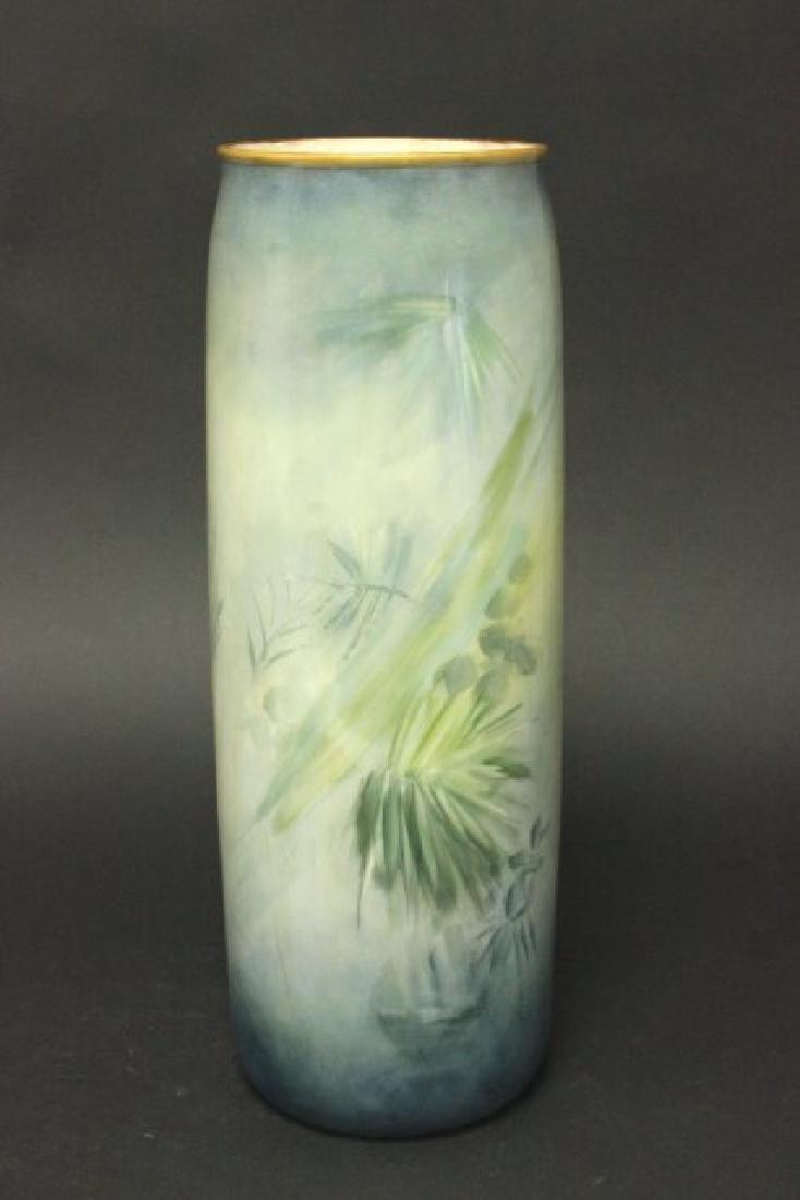 Belleek Porcelain Hand Painted Vase - 3