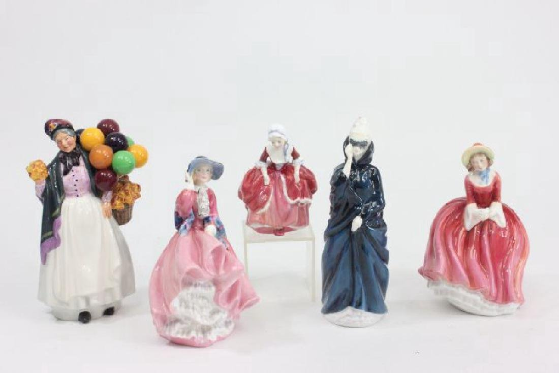 Group Lot 5 Royal Doulton Figures
