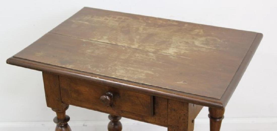 Antique Walnut Work Table - 2