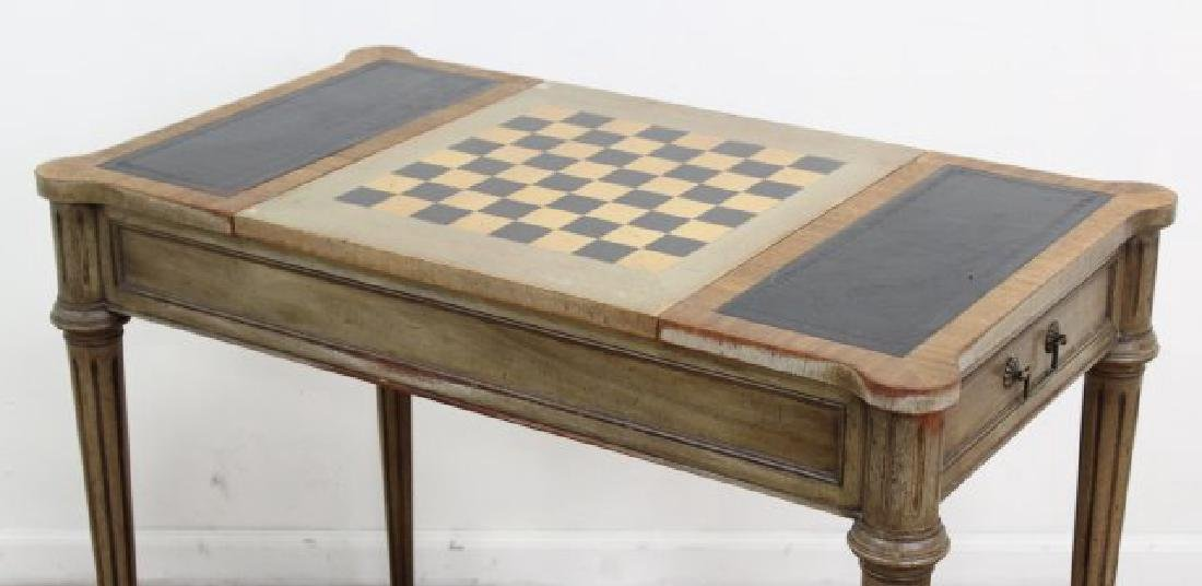 Directoire Style Games Table - 3