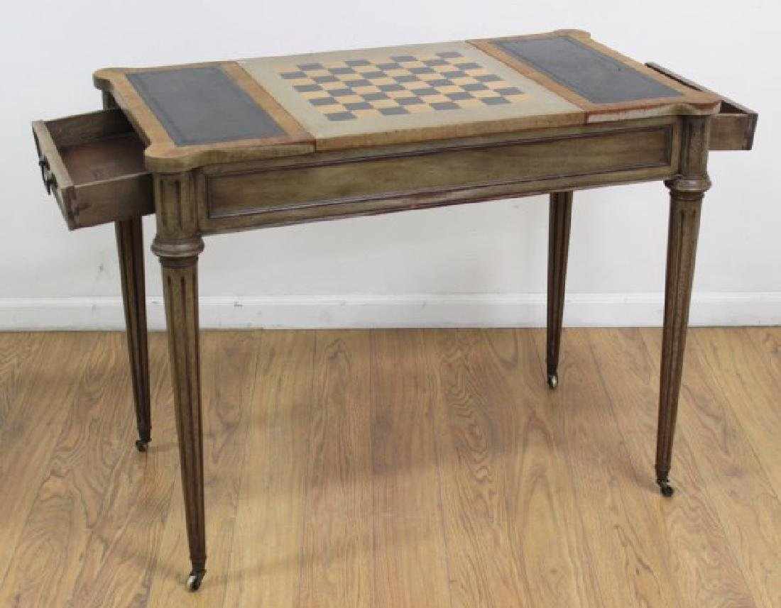 Directoire Style Games Table - 4