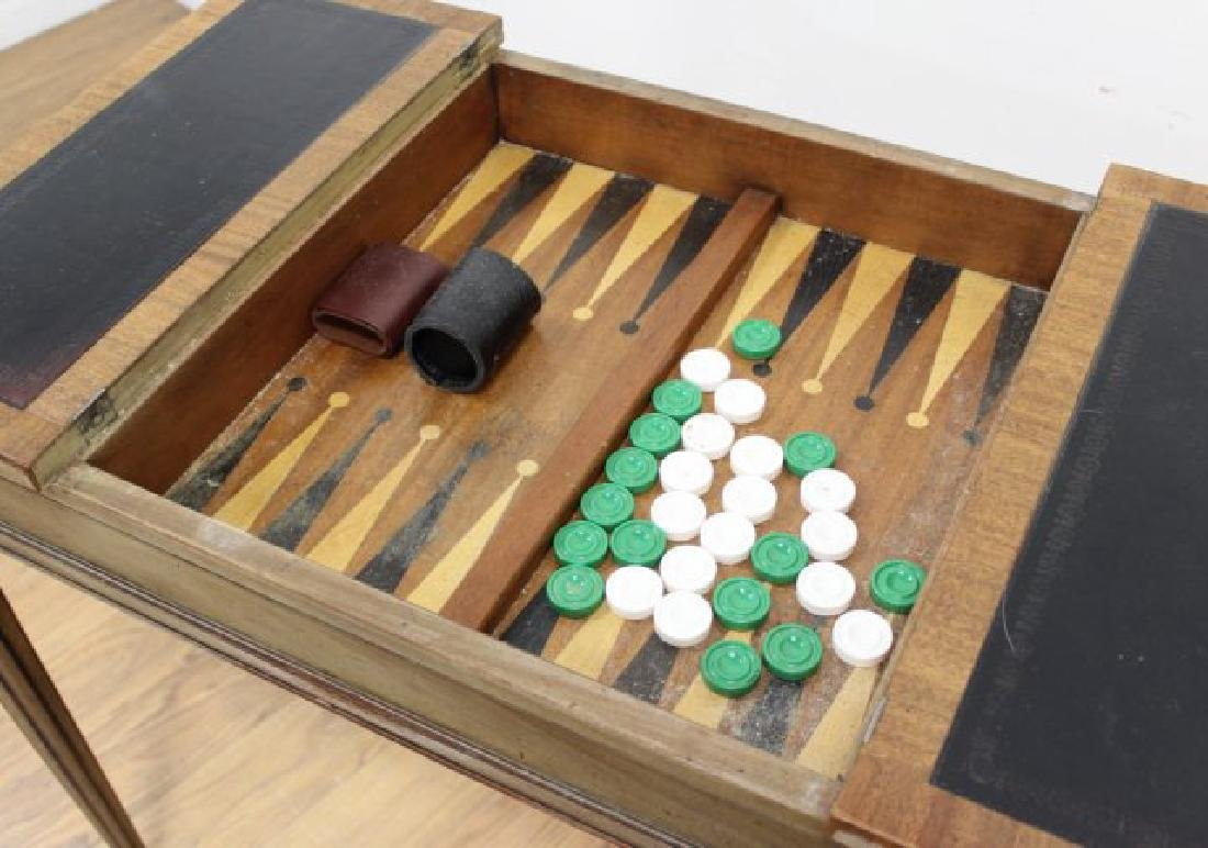 Directoire Style Games Table - 5