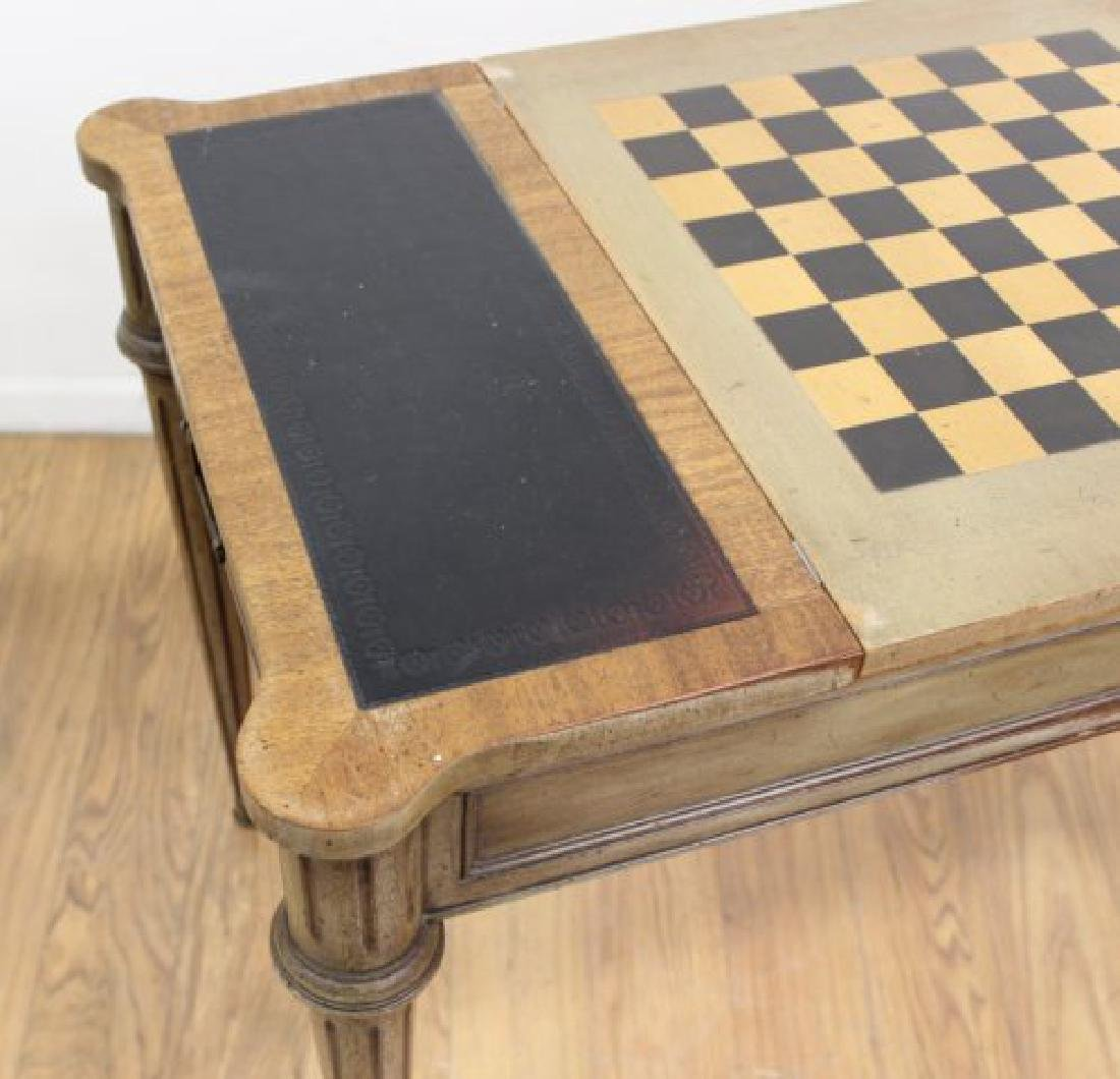 Directoire Style Games Table - 6
