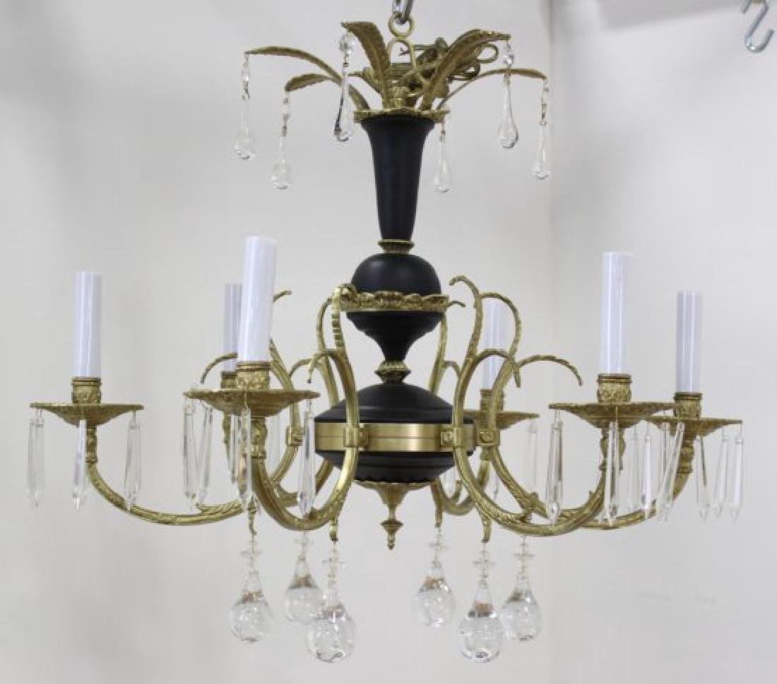 Neoclassic Style 6-Light Chandelier