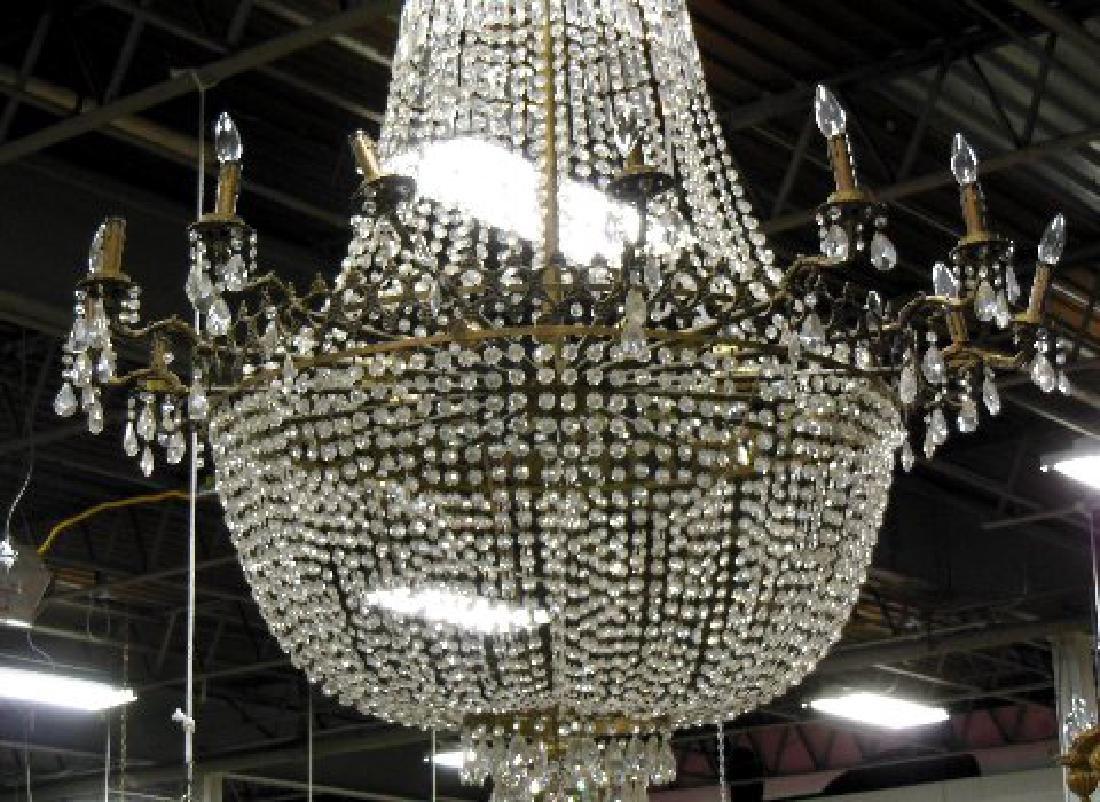 :Crystal Basket Chandelier - 2