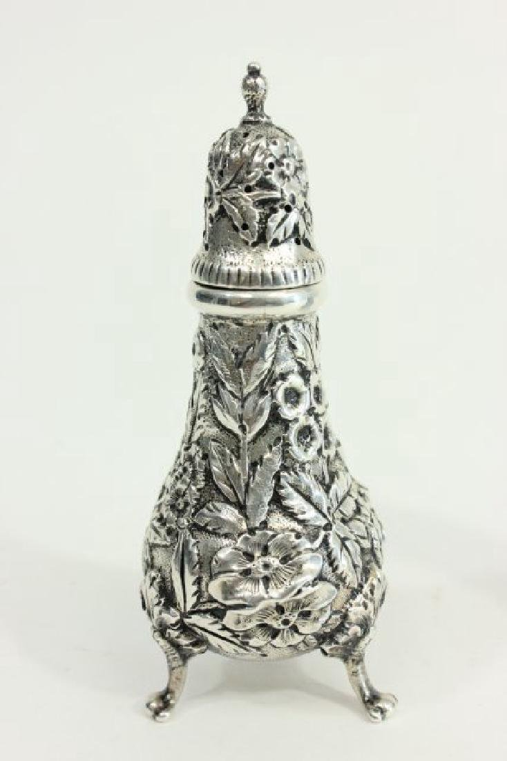 Kirk & Son Sterling Silver Salt & Pepper Shakers - 2