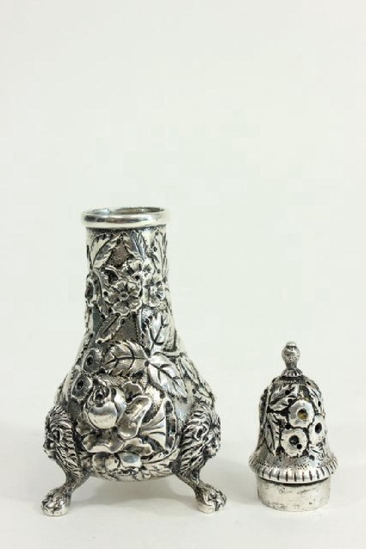 Kirk & Son Sterling Silver Salt & Pepper Shakers - 4