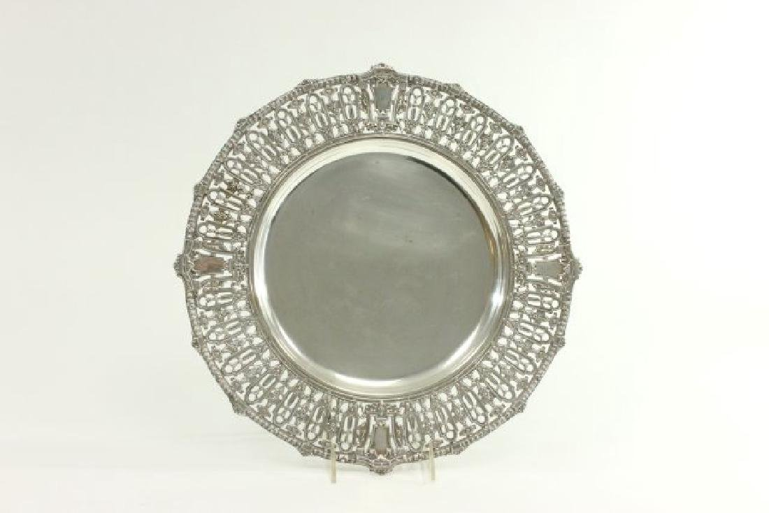 Reed & Barton Sterling Silver Round Tray