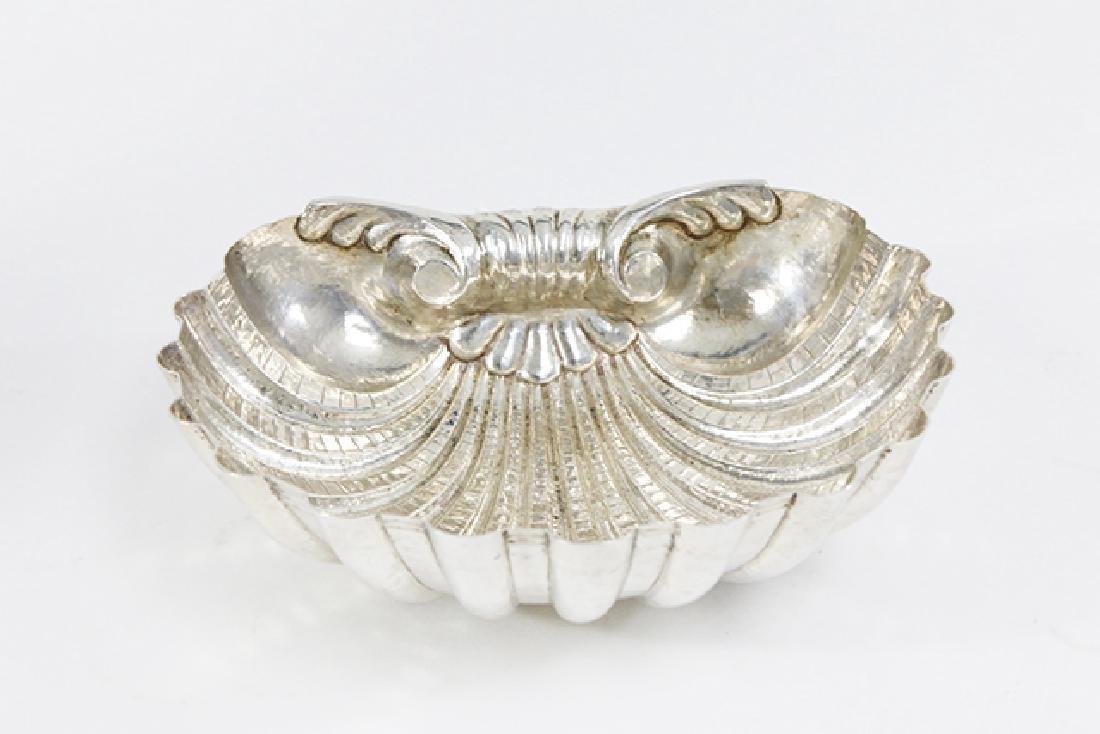7 Piece Donatelli Italian Silver Shell Dishes - 3