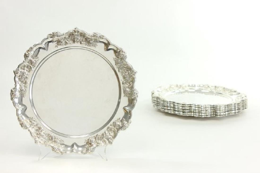 12 French Style Sterling Silver Dishes