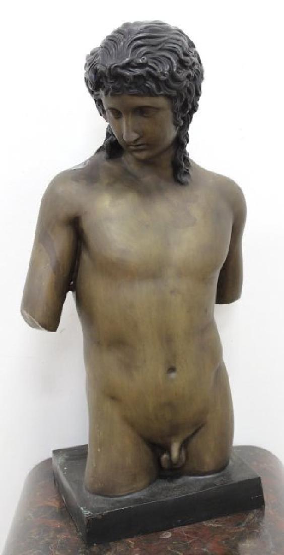 After Botticelli, Large Nude Torso