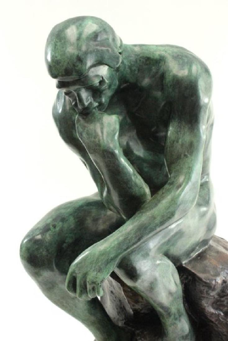 """After Auguste Rodin, """"The Thinker"""" - 2"""