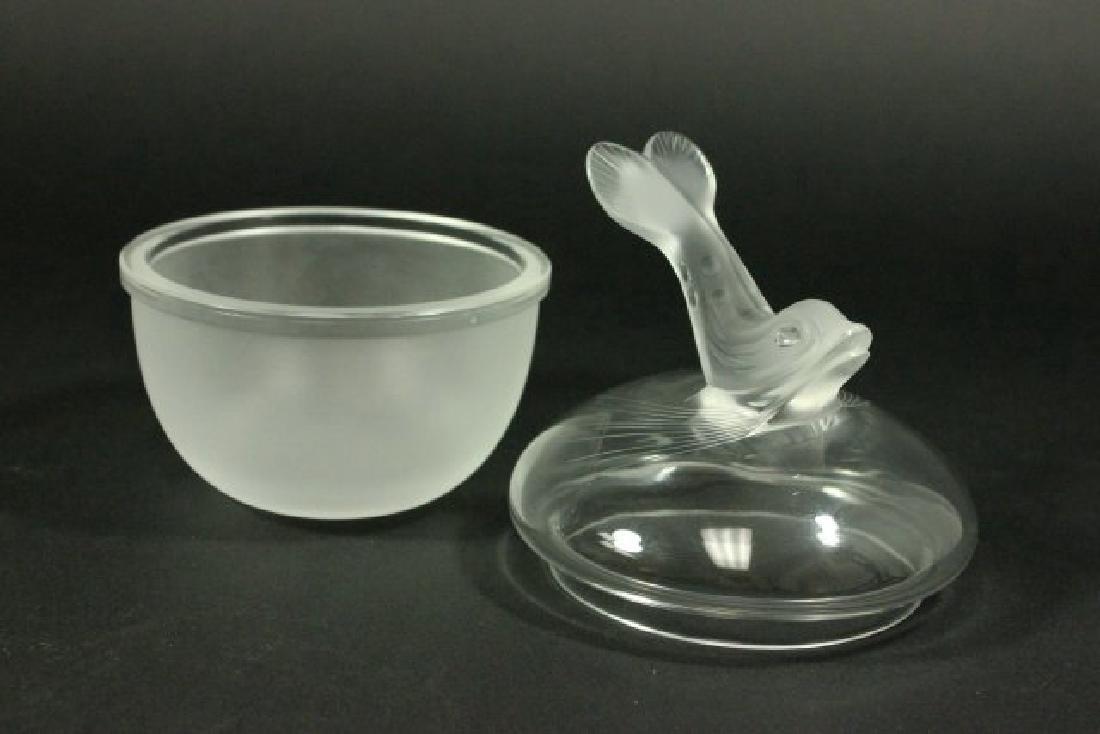 Lalique Crystal Igor Caviar Server - 6